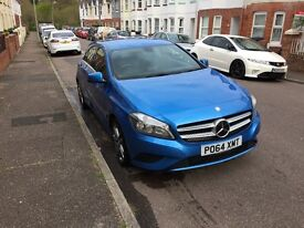 Immaculate Mercedes A Class in sporty blue