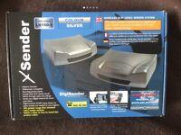 XSender Wireless Audio/Video Sender New Unused in Box