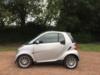 SMART FORTWO PASSION MIND 999 CC AUTOMATIC 10 MONTHS MOT ROAD TAX £20 FOR YEAR 60+MPG