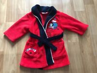 Thomas the tank housecoat Size 12-18 months
