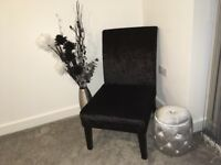 Chair + free footstool