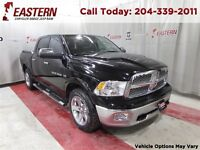 2012 Ram 1500 LARAMIE 5.7 HEMI  V8 4X4 DVD NAV SUNROOF *LOADED*