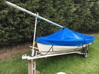Wayfarer sailing boat SD model 1988