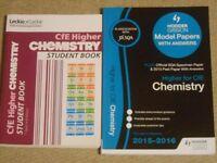 CfE Higher Chemistyr books