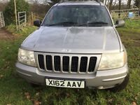 Grand Cherokee Jeep Limited Edition leather seats tow bar and mot until 28th August
