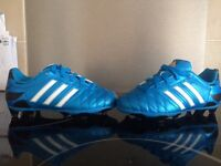 Boys football boots (adiddas) worn only once, immaculate condition