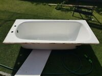 Steel bath 1500 x 700 good condition