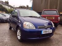 Toyota Yaris 1.3 VVT-i 16v CDX 5dr£1,395 very well looked after