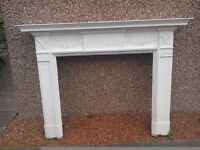 19th century fireplace / chimneypiece / mantlepiece