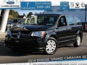 2014 Dodge Grand Caravan SE**7 PLACES*CRUISE*A/C**