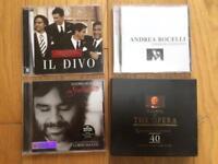 Operatic Singers CD Bundle - Il Divo