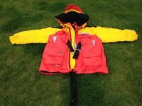 Sundridge Lifejacket 150N For Adult Height 170-200cm and Chest 84-135cm EXCELLENT CONDITION
