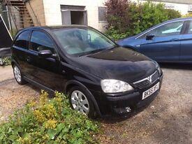 2005 (55) Vauxhall Corsa 1.2 SXI 3dr Black (Spares or Repair)