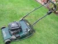 large rear roller petrol lawn mower hayter harrier 56 22 inch