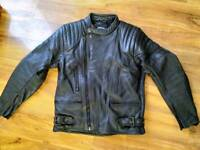 JTS motorcycle Leather Jacket and Trousers