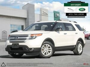 2015 Ford Explorer XLT - 4WD 6 Passenger 2nd row Bucket Seating
