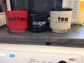 suger coffee tea set