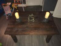 Coffee Tables -made from Reclaimed Pallet Wood (Cheap & Strong Furniture)