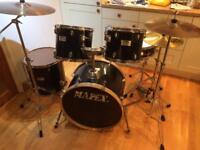 MAPEX drum kit with Sabian cymbals