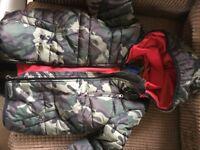 warm hooded debenhams coat aged 6-7, BNWT