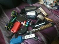 Job lot multiple percussion items