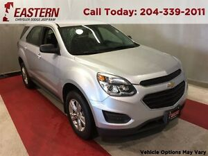 2016 Chevrolet Equinox LS 17 ALLOY USB RADIO A/C CRUISE AM/FM