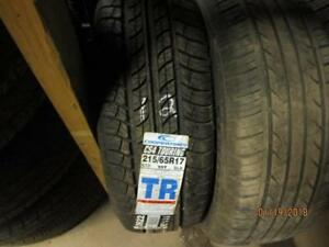 215/65R17 1 ONLY SINGLE NEW COOPER ALL SEASON TIRE