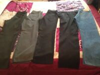 5 pairs Size 30W reg trousers 1 pair is Levi 501 jeans great condition