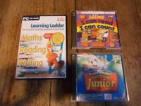 early learning pc cd-rom joblot