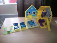 Peppa Pig House with Furinture