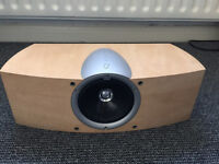 KEF Speakers and Active Subwoofer - 2 x Q2ds, 1 x Q6c, and 1 x PSW2000