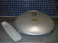 XL George Forman Grilling Machine with 2 drip trays and cleaning tool