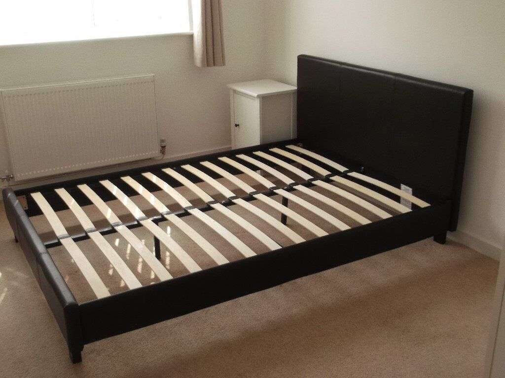 Ikea Malm standard double bed frame 199 x 150 | in Abergele, Conwy | Gumtree