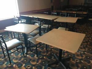 Restauarnt closed ! Up to 200 chairs and 100 tables