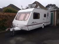 Swift Charisma 560 Caravan 2004 - 4 Berth Lovely condition, ready to hitch up and go
