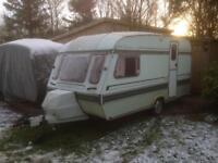 Elddis retro 80's caravan, spares or repair/camper conversion
