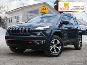2017 Jeep Cherokee Trailhawk Fully Loaded , C.Start ,Panorami...