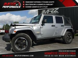 2014 Jeep Wrangler Unlimited Sahara - 4X4 - 6 vitesses - GPS - S