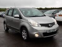 2009 nissan note 1.4 petrol acenta with only 55000 miles, motd april 2019