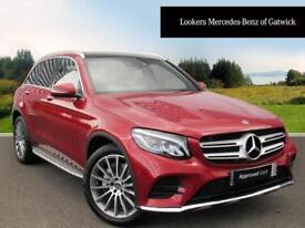 Mercedes-Benz GLC Class GLC 220 D 4MATIC AMG LINE PREMIUM PLUS (red) 2017-09-14