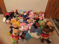 Various Disney beanie toys, £3 each or offer on job lot