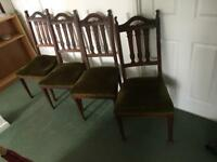 Dining chair X 4