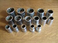 "AF Sockets (1/2"" Drive) Mainly Britool"