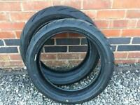 Bridgestone S21 Front 120 Rear 160