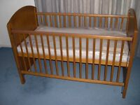 Cosatto Dual Height Wooden Cot Bed