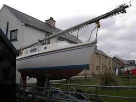 Westerly Tiger 25' 6 Berth Yacht On New Purpose-Built Trailer