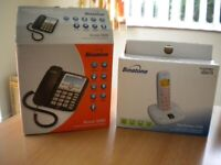 CORDLESS/ANSWER PHONE & CORDED/ ANSWER PHONE