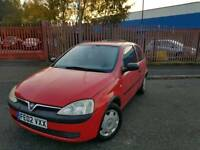 VAUXHALL CORSA 1.0ltr *** CHEAP INSURANCE-LOW MILES- FREE DELIVERY ***