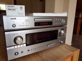 Denon AVR-2805 AV amp and DVD player