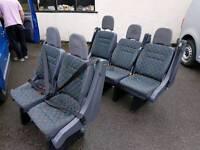 Set of 5 Mini Bus Seats mercedes vito van